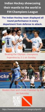 Indian Hockey team in FIH Champions League 2018 - NewsroomPost
