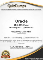 1Z0-595 Exam Dumps - Pass with 1Z0-595 Dumps PDF [2018]