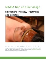 Shirodhara Therapy, Treatment and Benefits