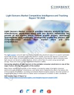 Light Sensors Market Competitive Intelligence and Tracking Report Till 2026