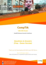 CAS-002 CompTIA Advanced Security Practitioner CAS-002 Exam Questions   Download Instantly