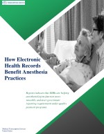 How Electronic Health Records benefit Anesthesia Practices