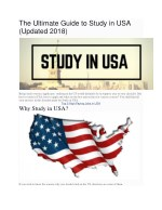 The Ultimate Guide to Study in USA (Updated 2018)