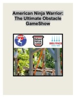 American Ninja Warrior: The Ultimate Obstacle Game Show