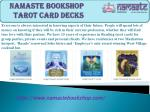 Namaste Bookshop Tarot Card Decks
