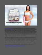Keto Complete Forskolin - How I Can Lose Weight Safely