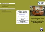 Online Certification Course in Hospital Front Office Management