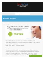 Android device tech support