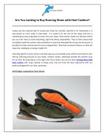 Are You Looking to Buy Running Shoes with Heel Cushion?