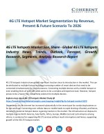 New Study: The 4G LTE Hotspot Market Will Radically Change Globally in Next Eigth Years