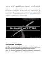 Get Services from Buffalo Vape Store