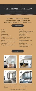 Hero Homes Gurgaon Residential Apartments for Sale in Gurgaon