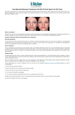Considering Melasma Treatment Get Rid Of Dark Spots On The Face