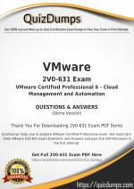 2V0-631 Exam Dumps - Real 2V0-631 Dumps PDF