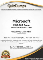 MB2-708 Exam Dumps - Get MB2-708 Dumps PDF