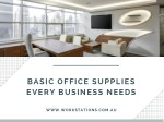Basic Office Supplies Every Business Needs
