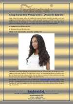 Cheap Human Hair Weaves Online – Choose the Best One