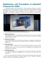 Maintenance and Precautions of Industrial Furnaces for Safety