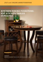 Kitchen Dining Furniture: Are Kitchen Tables Outdated