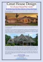 Get the Best House Plan Photo Collection to Choose Best Designs