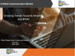Unified Communication Market - Growing Trends towards Mobility and BYOD