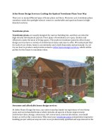 Arbor Home Design Services: Crafting the Opulent Townhome Plans Your Way