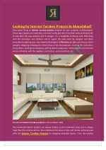 Looking for Interior Turnkey Projects in Ahmedabad?