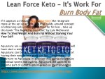 Lean Force Keto - Recovery Fast After Exercise
