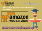 Download Free AWS-Certified-Solutions-Architect-Professional Amazon Dumps