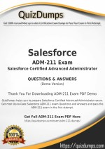ADM-211 Exam Dumps - Preparation with ADM-211 Dumps PDF [2018]
