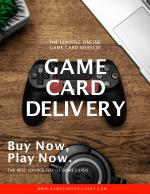 Game Card Delivery Provides Wide Range Of Game Cards And Gift Cards Online USA