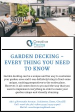 Garden Decking - Every Thing You Need To Know