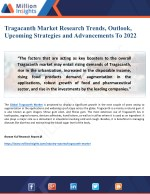 Tragacanth Market Research Report 2022: New Trends, Outlook