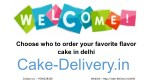 Which way to order the cake in any way at your chosen time and day?