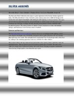 Mercedes Benz C Class Cabriolet - Features Every Car Lover Should Be Aware Of