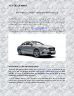 Mercedes Benz CLA 200 Sport – Interior Features You should know