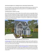 Arbor Home Design Services: Crafting the Future of Upcoming Townhouse Plans