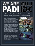 The PADI IDC Indonesia in the Gili Islands with Holly Macleod