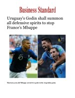 FIFA World Cup 2018: Uruguay Vs France Football Live Match Updates