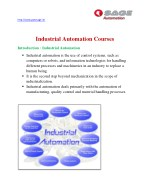 Best Industrial Automation Training Institute in Thane,Mumbai | Sage Automation