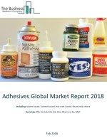 Adhesives Global Market Report 2018