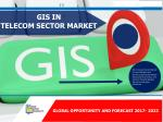 GIS in Telecom Sector Market Growing Expeditiously- Reaching $7,773 Million, Globally, by 2023