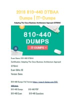 2018 Cisco 810-440 Real Dumps | IT-Dumps