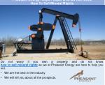 Pheasant Energy Helps People Who Do Not Know How To Sell Mineral Rights