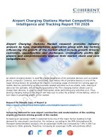 Global Airport Charging Stations Market to Showcase Attractive Growth Opportunities Worldwide