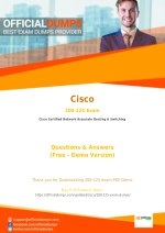 200-125 - Learn Through Valid Cisco 200-125 Exam Dumps - Real 200-125 Exam Questions
