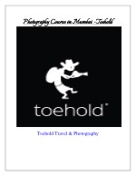 Join Photography course in Mumbai - Toehold