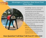 Advantages of Stainless Steel Wood Fired Pizza Ovens