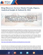 Drug Discovery Services Market Trends, Figures, Analytical Insight & Outlook By 2022