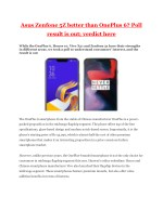 Asus Zenfone 5Z better than OnePlus 6? Poll result is out; verdict here